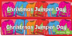 Christmas Jumper - Non-uniform Day