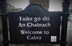 'Make Irish visible in Cabra' campaign