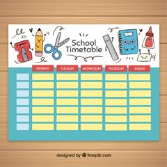 Online Timetables for 6th year & All other years