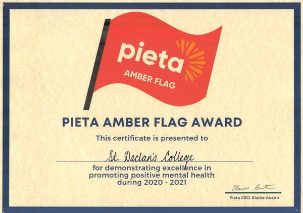 Amber Flag Award 2021